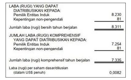 Contoh Laporan Keuangan Laba Rugi Di Bidang Jasa